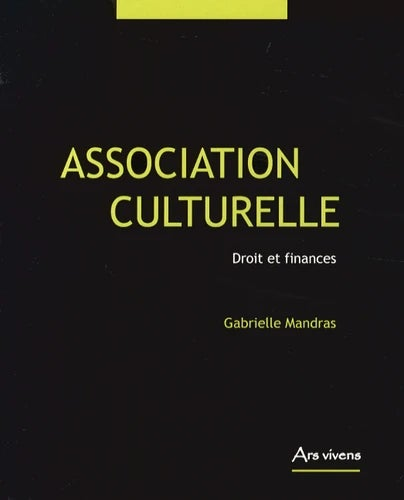 Image of  Association culturelle - Droit et finances De Gabrielle Mandras