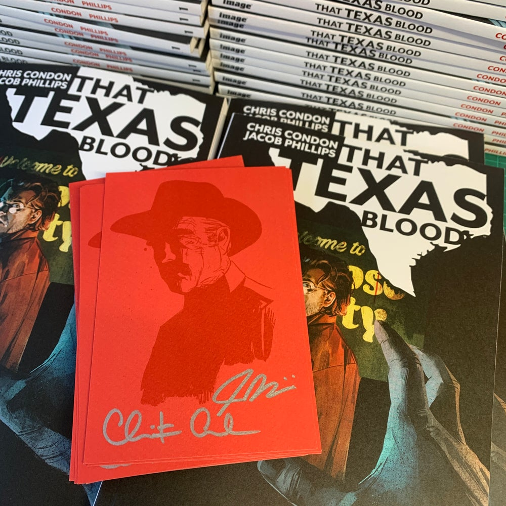Image of THAT TEXAS BLOOD VOL.1 TPB - SIGNED