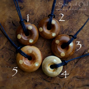 Image of Selection of Faery ring pendants (PE1395)