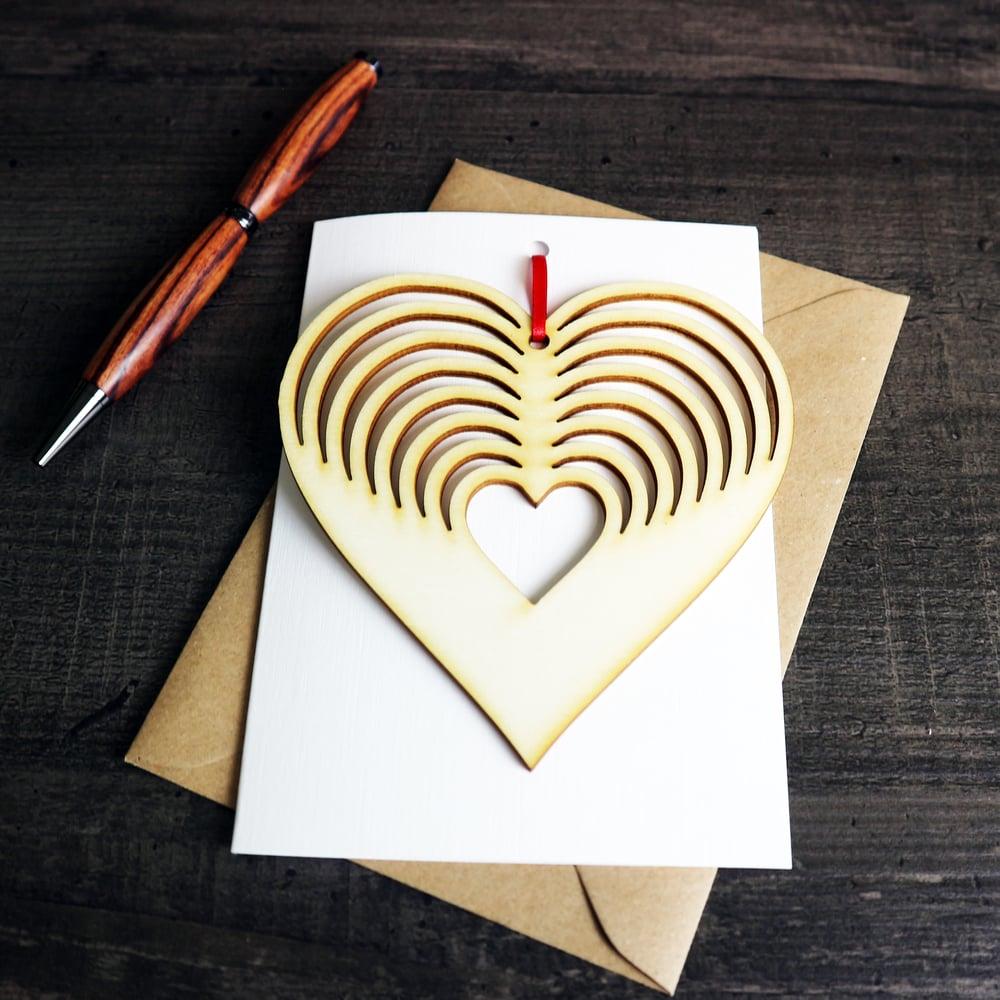 Image of Heart Keepsake and Card