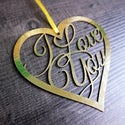 I Love You - Hanging Keepsake and Card
