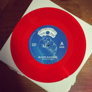 """Image of Baro MC feat. Redda - Blood suckers (Earth Resistance Records) 7"""""""