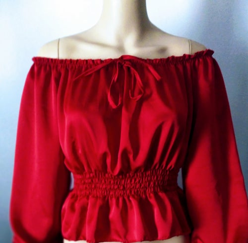 "Image of "" Sweetheart"" Blouse"