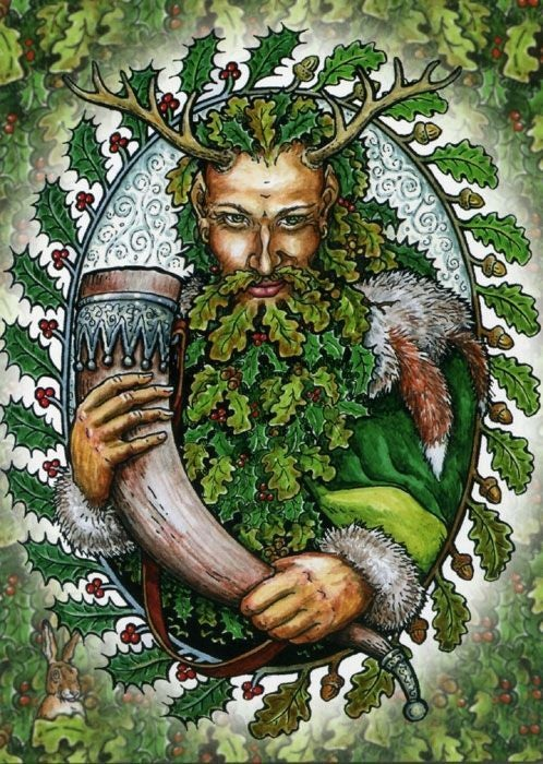 """Image of """"Cernunnos"""" """"The Green Man"""" """"The Horned God"""""""