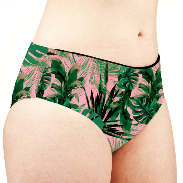 Image of House Plants Low Rise Cheeky Shorts