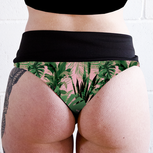 House Plants High Waisted Peachy Thong Shorts