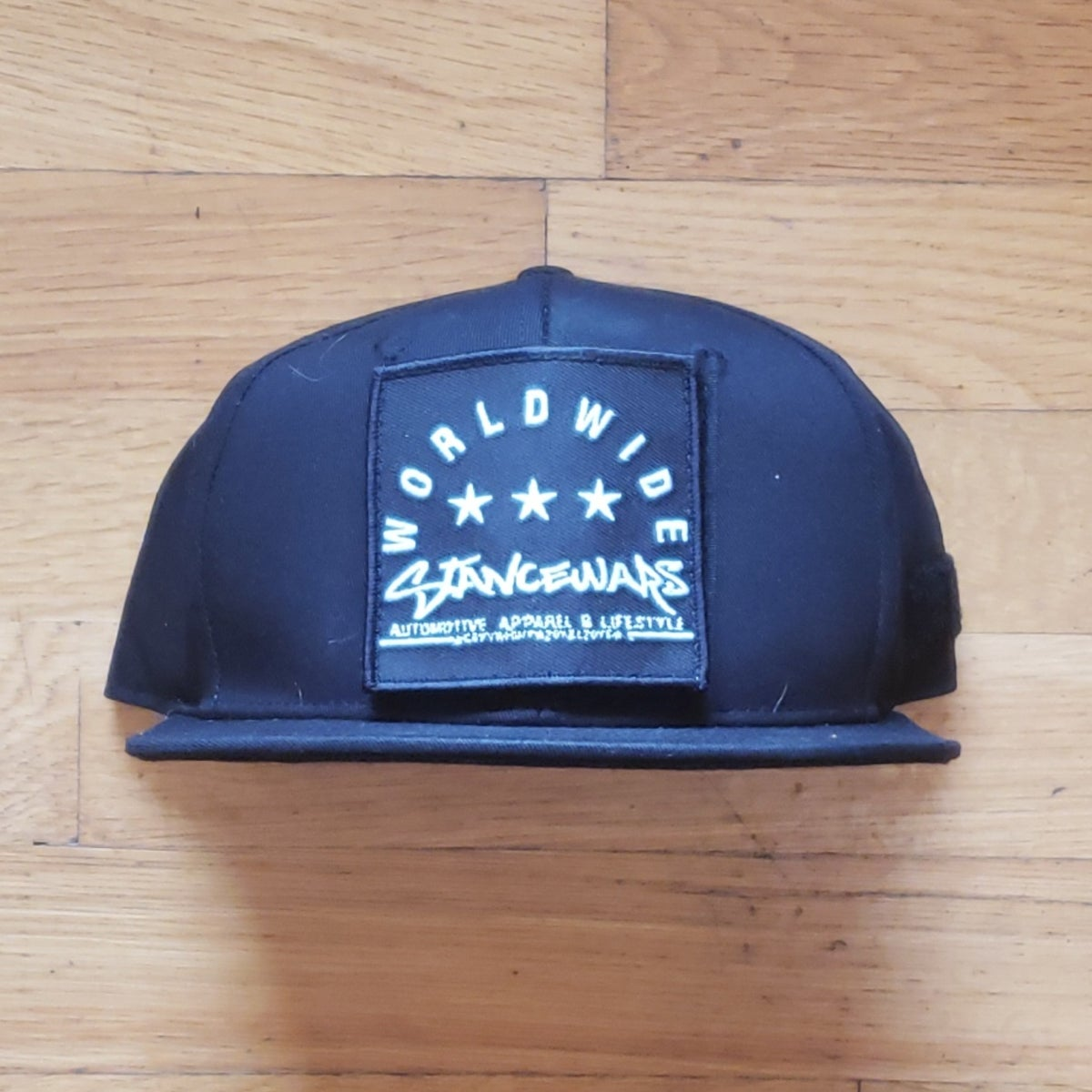 Image of StanceWars Basic Black Patch Snapback