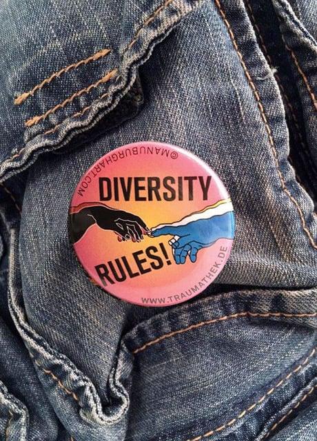 Button Diversity Rules!, 5er Bündel