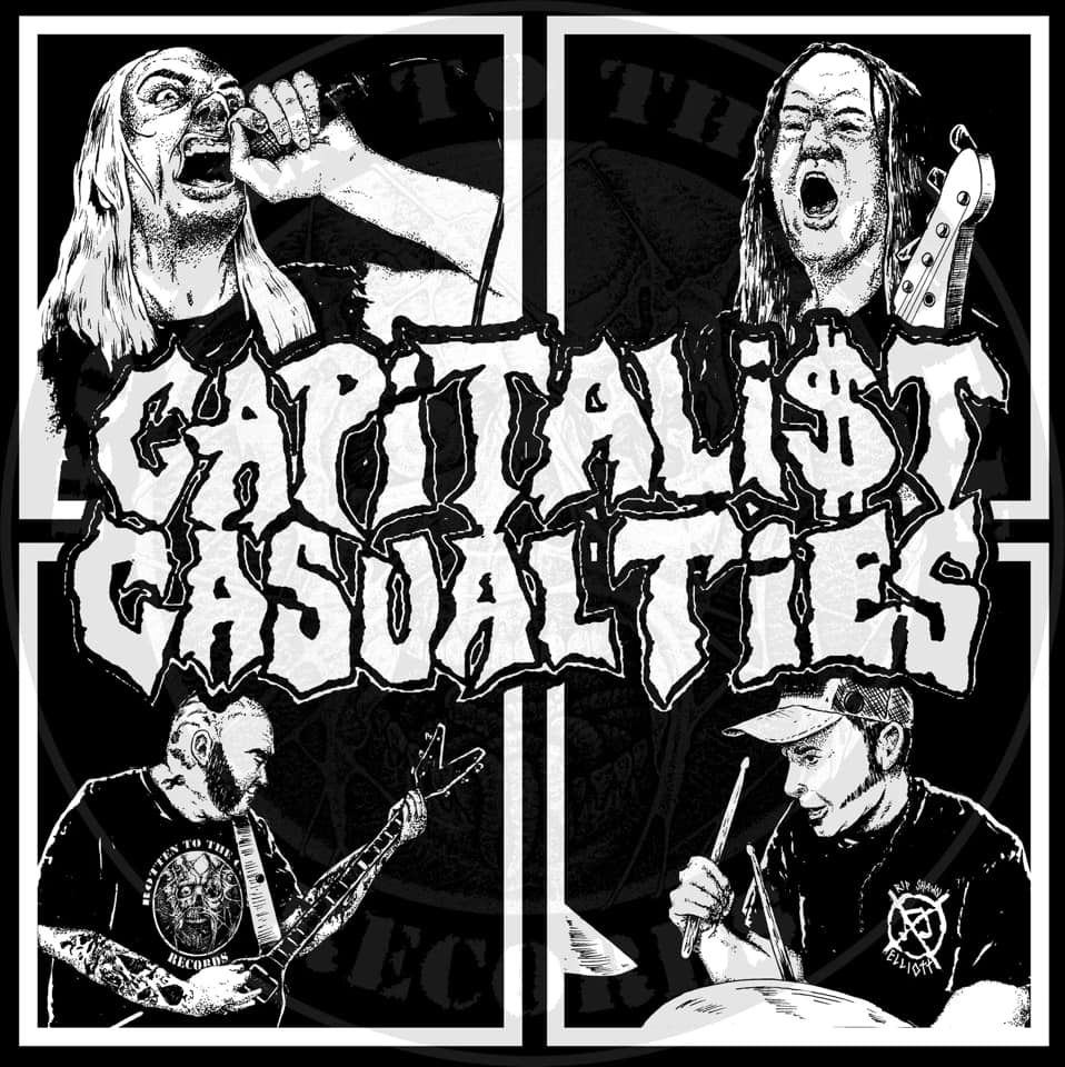 Image of Capitalist Casualties Sticker (2)