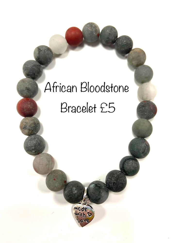 Image of African Bloodstone Well Being Stones - Prices Start From £4