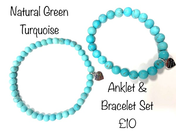 Image of Natural Green Turquoise £5-£10