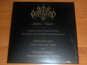 Image of Altar of Perversion - Intra Naos 3LP