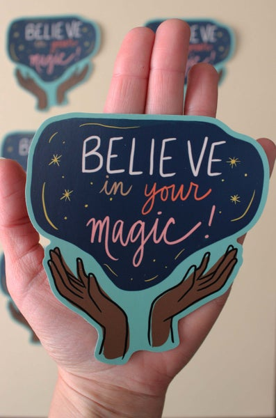 Image of Believe in Your Magic Sticker