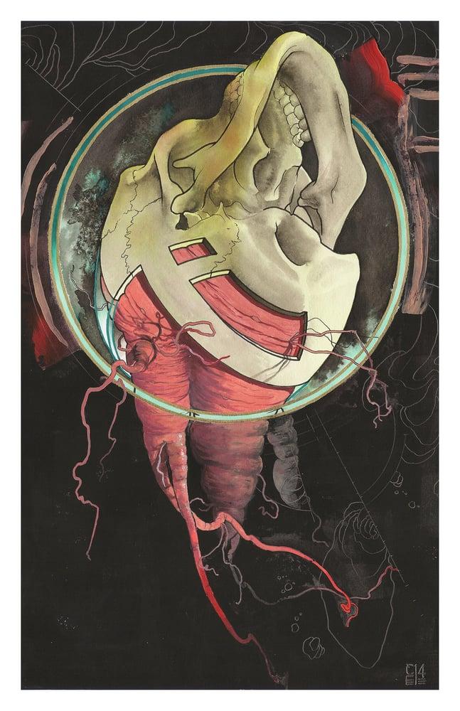 """Image of Death Print 11x17"""" - Cody Eich"""