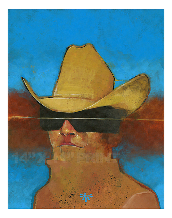 Image of Space Cowboy / PRINT