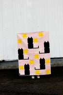 Image 3 of the KITTY COMMITTEE CAT Quilt PDF Pattern