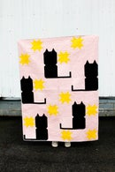 Image 4 of the KITTY COMMITTEE CAT Quilt PDF Pattern