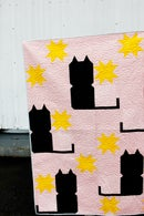 Image 5 of the KITTY COMMITTEE CAT Quilt PDF Pattern