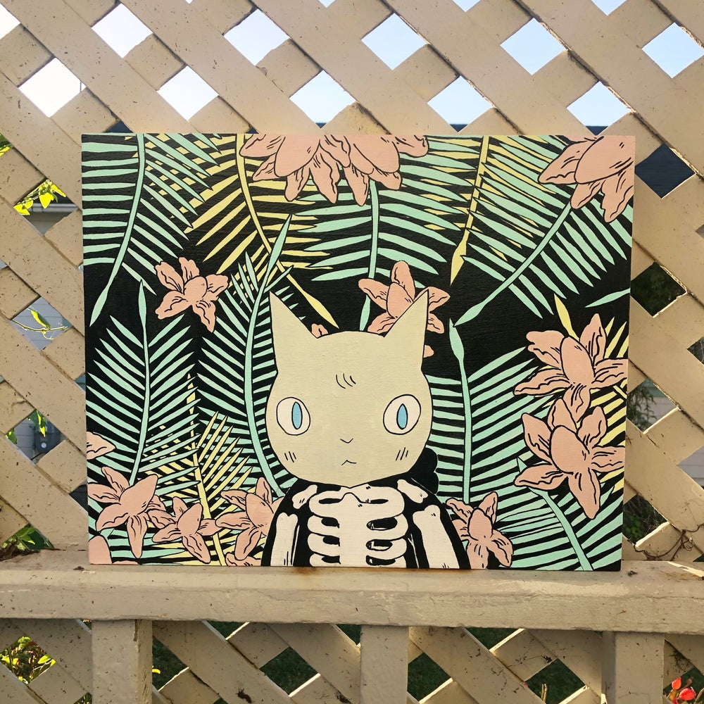 Image of Palm Leaves Painting MMXXI
