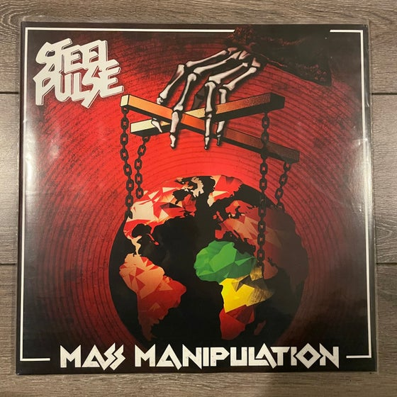 Image of Steel Pulse - Mass Manipulation 2xLP
