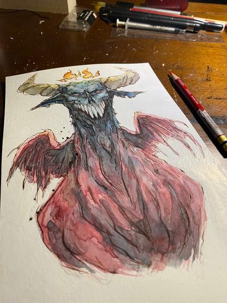 Image of Fiery crown dragonia