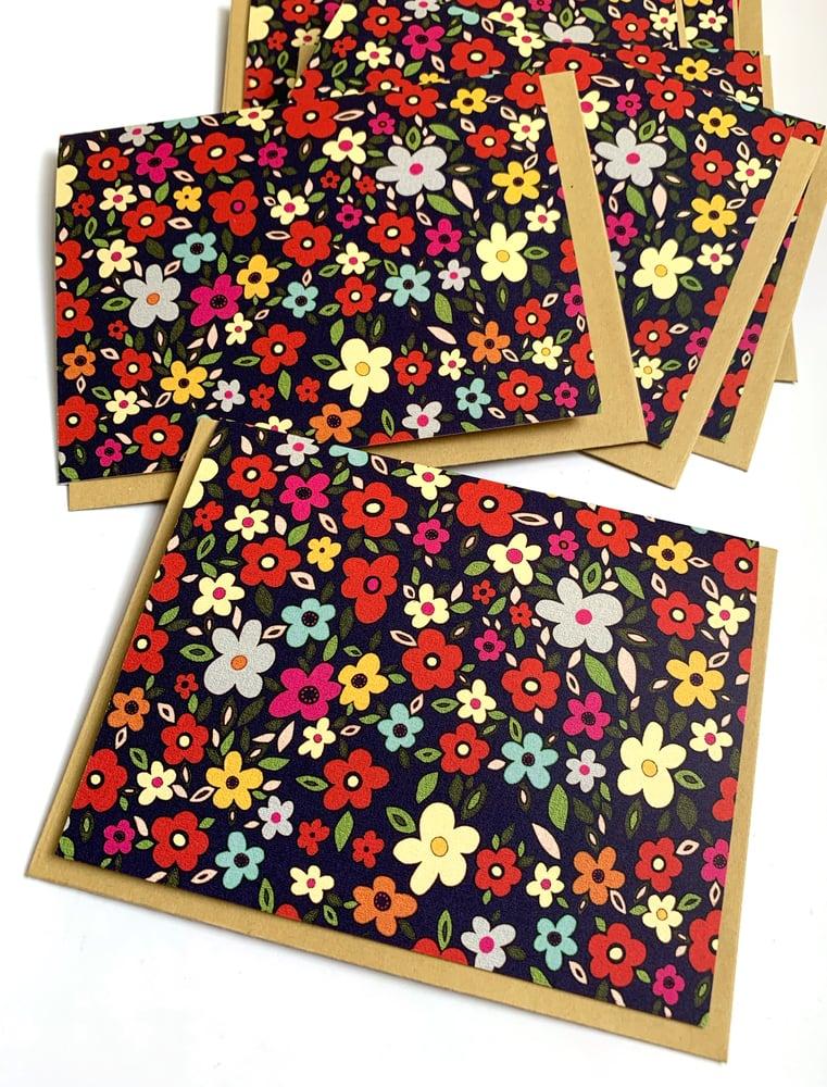 Image of Mod Floral Notecard Set