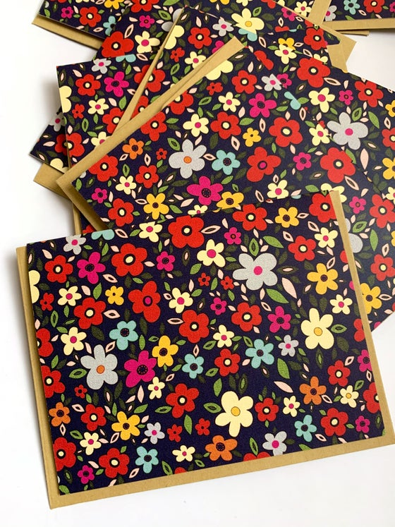Image of Mod Floral Notecard Set