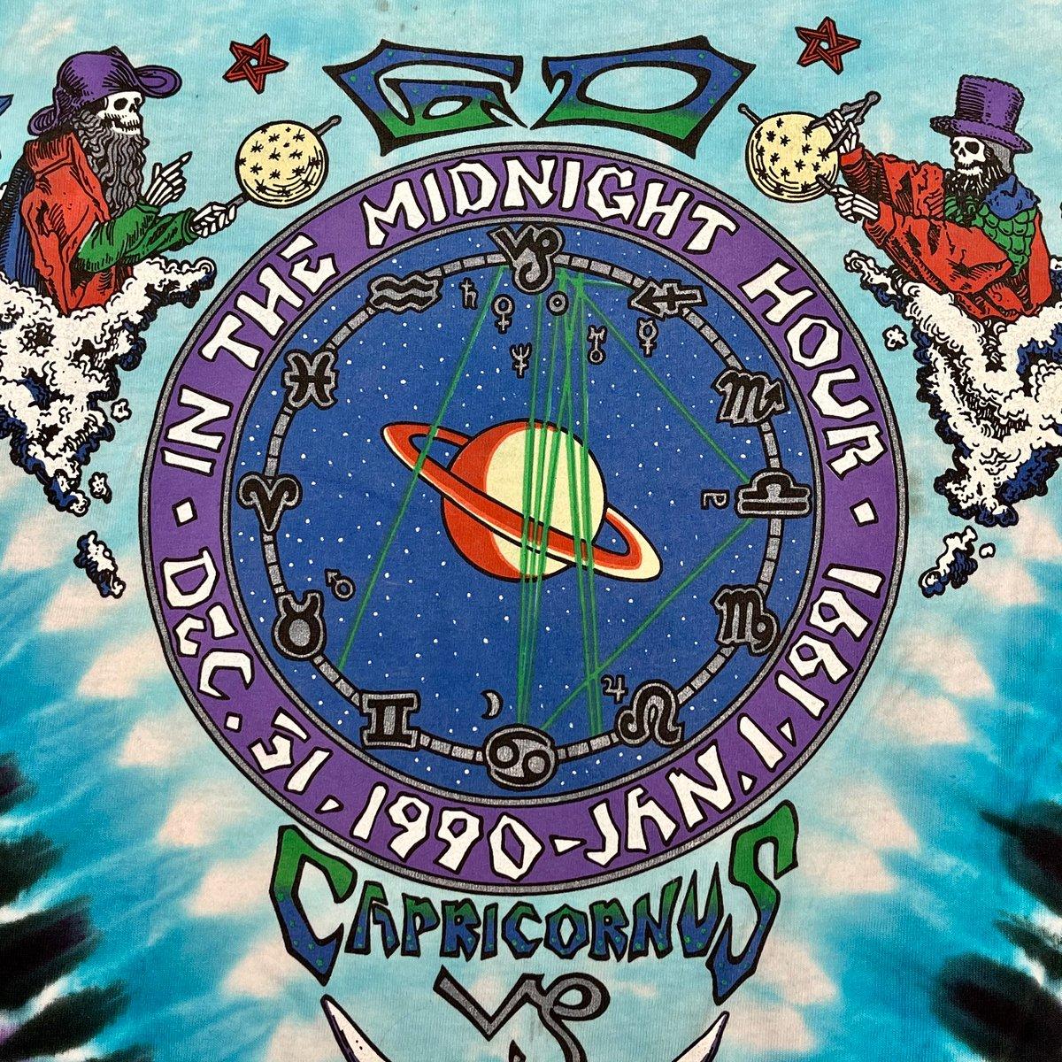 Original Vintage Grateful Dead New Years Eve 1990! Short Sleeve Dye!! - Large