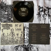 "Image of TORTURE RACK  'Pit of Limbs'  7"" black"