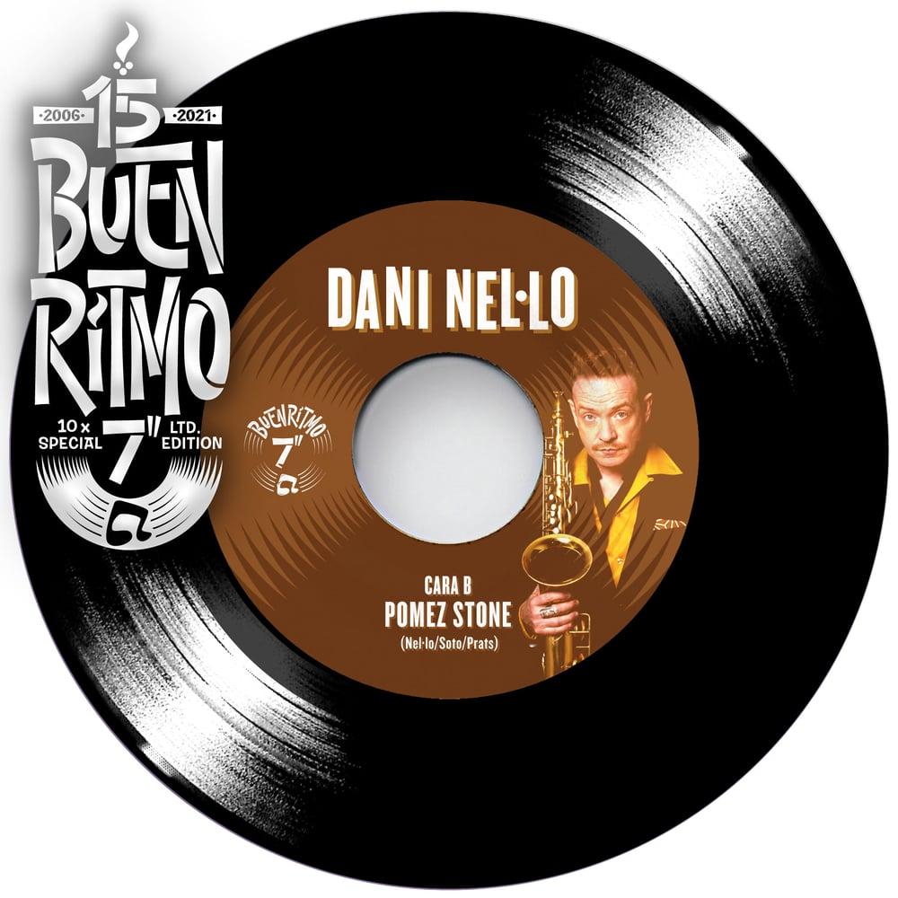 """Dani Nel·lo """"Holly Zapatitos / Pomez Stone"""" - Single 7"""" Vinilo Negro"""