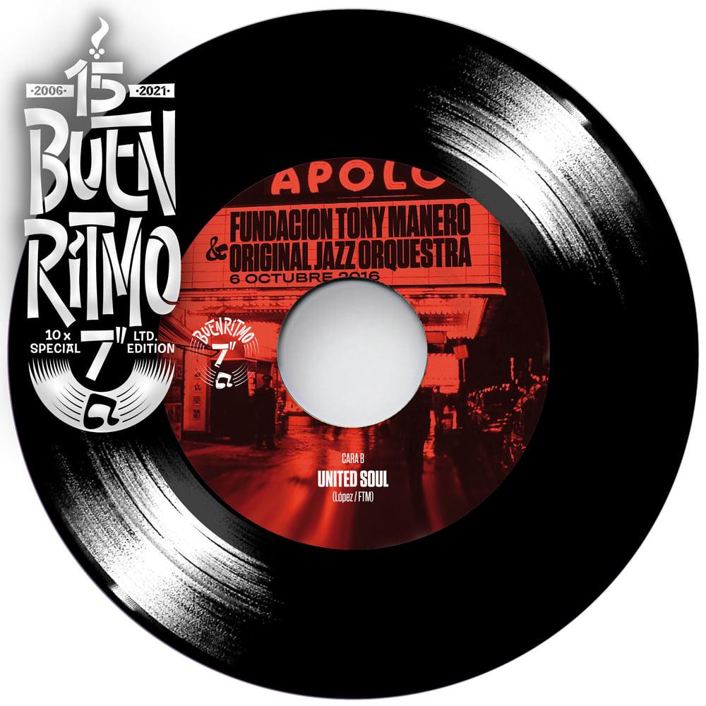 """Preorder - Fundación Tony Manero & OJO """"Paquito's Way / United Soul"""" Single 7"""" Vinilo Negro"""