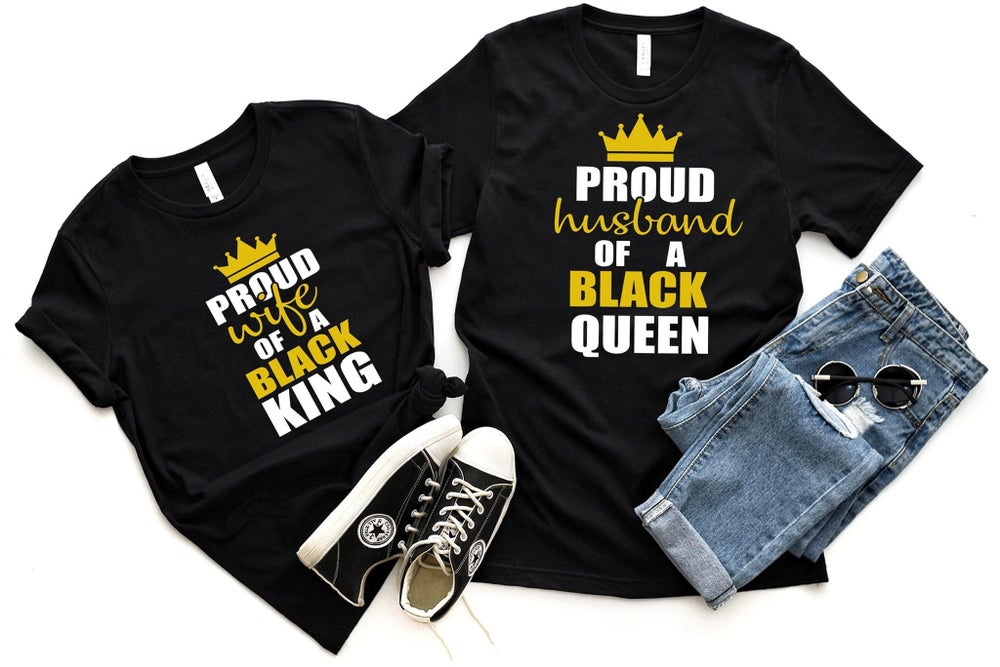 Image of Proud King & Queen Set
