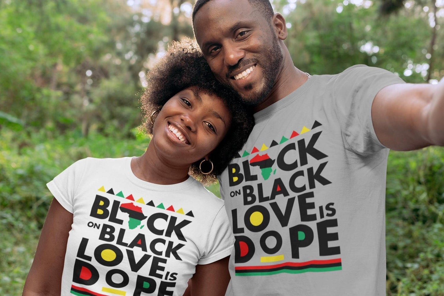 Image of Black On Black Love Is DOPE!
