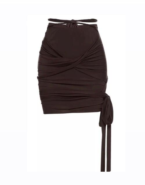 Image of Tie   Skirt