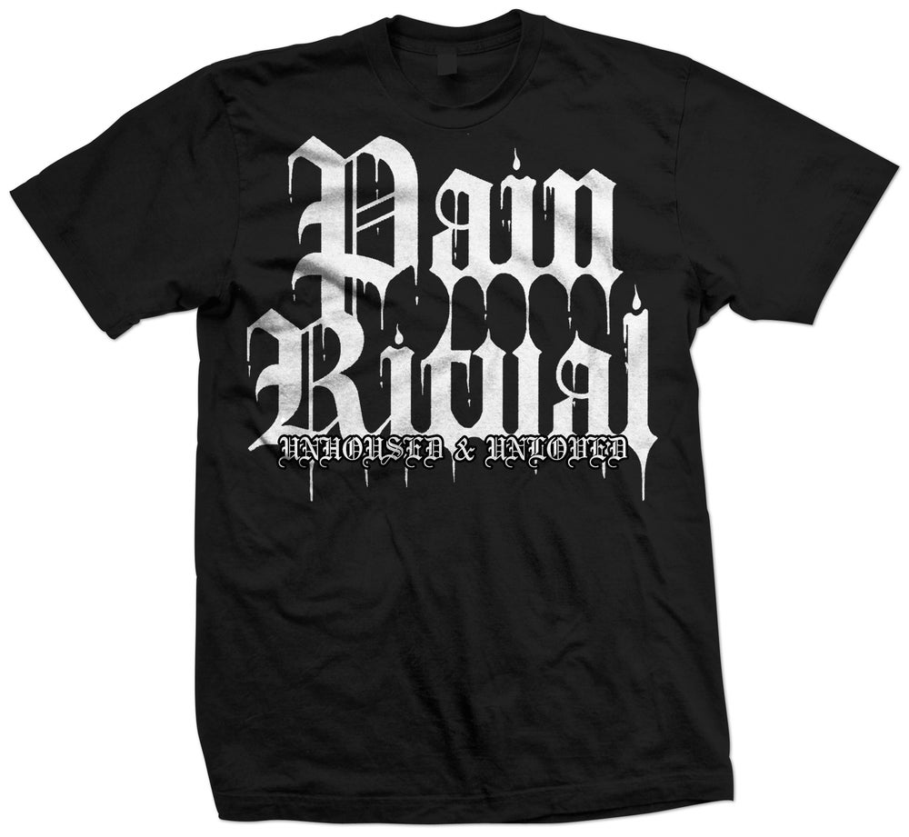 Image of Pain Ritual 'Unhoused & Unloved' Cassette & Tee Shirt Combo