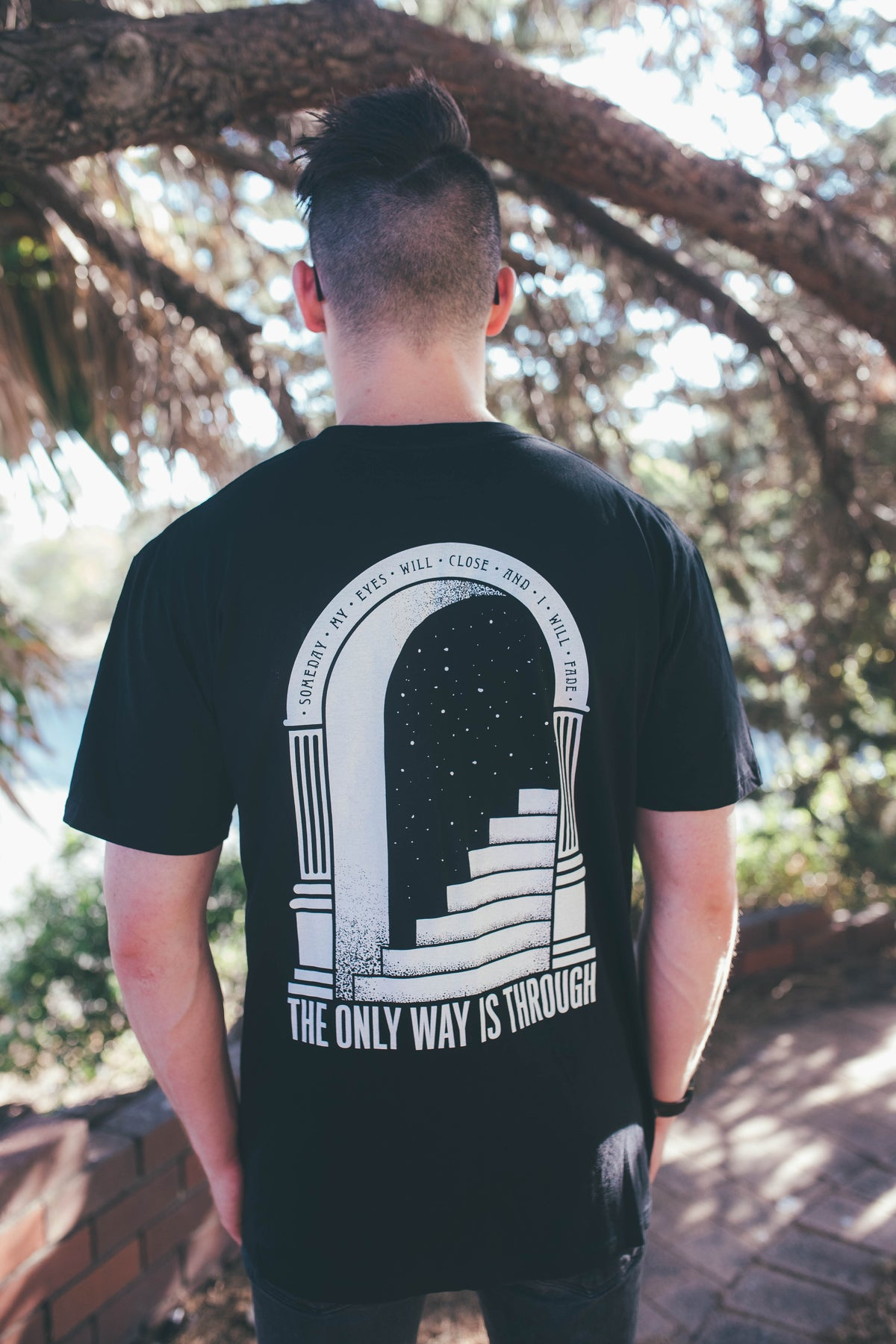 Image of The Only Way Is Through Tee