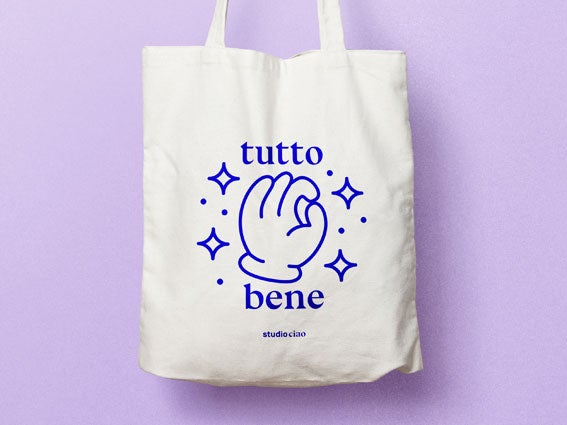 Image of JUTEBEUTEL Tutto Bene