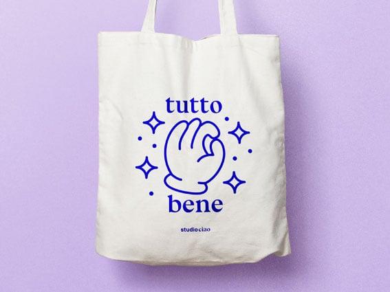 Image of JUTEBEUTEL Tutto Bene