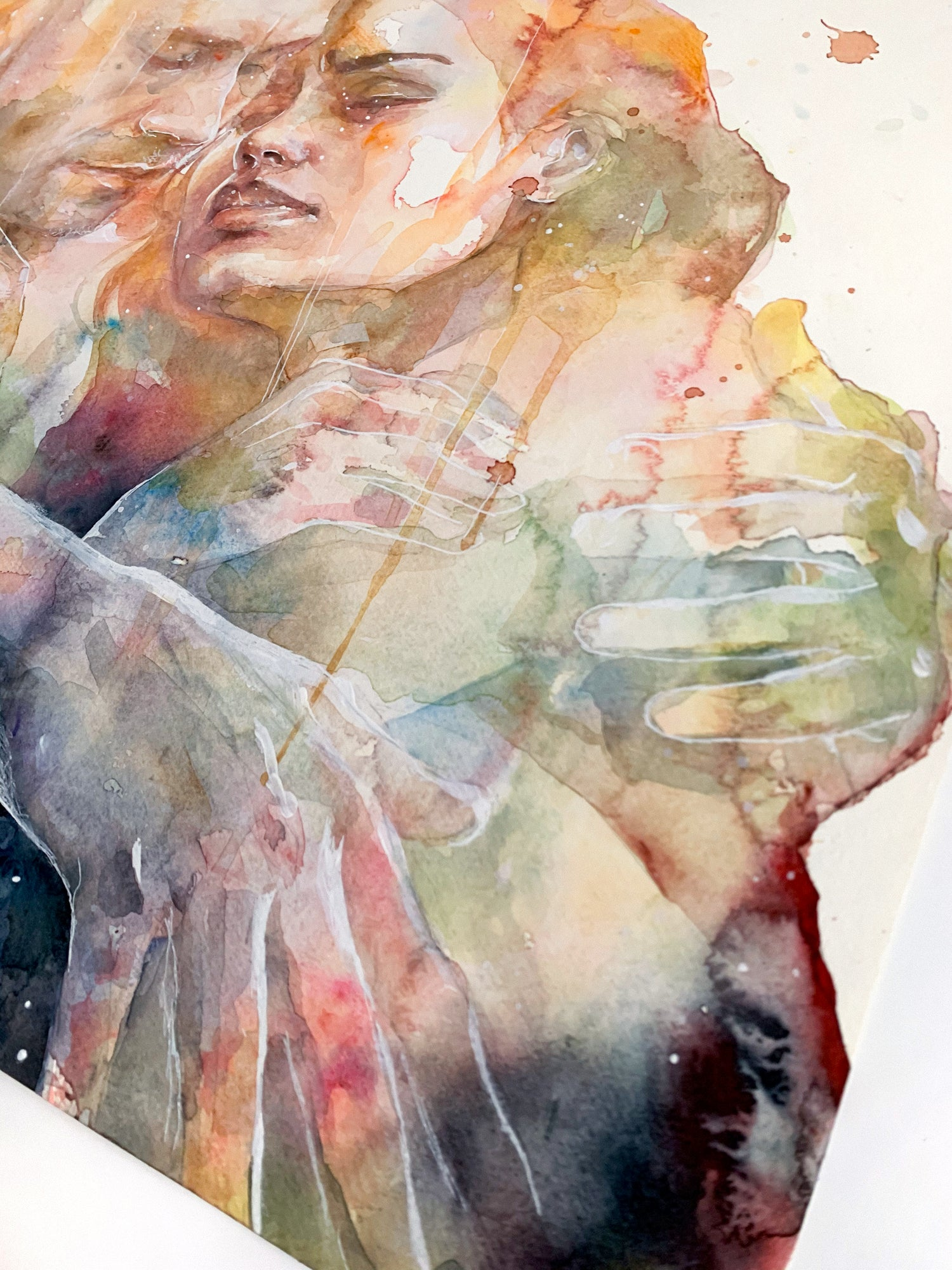 Agnes-Cecile they could sense each other
