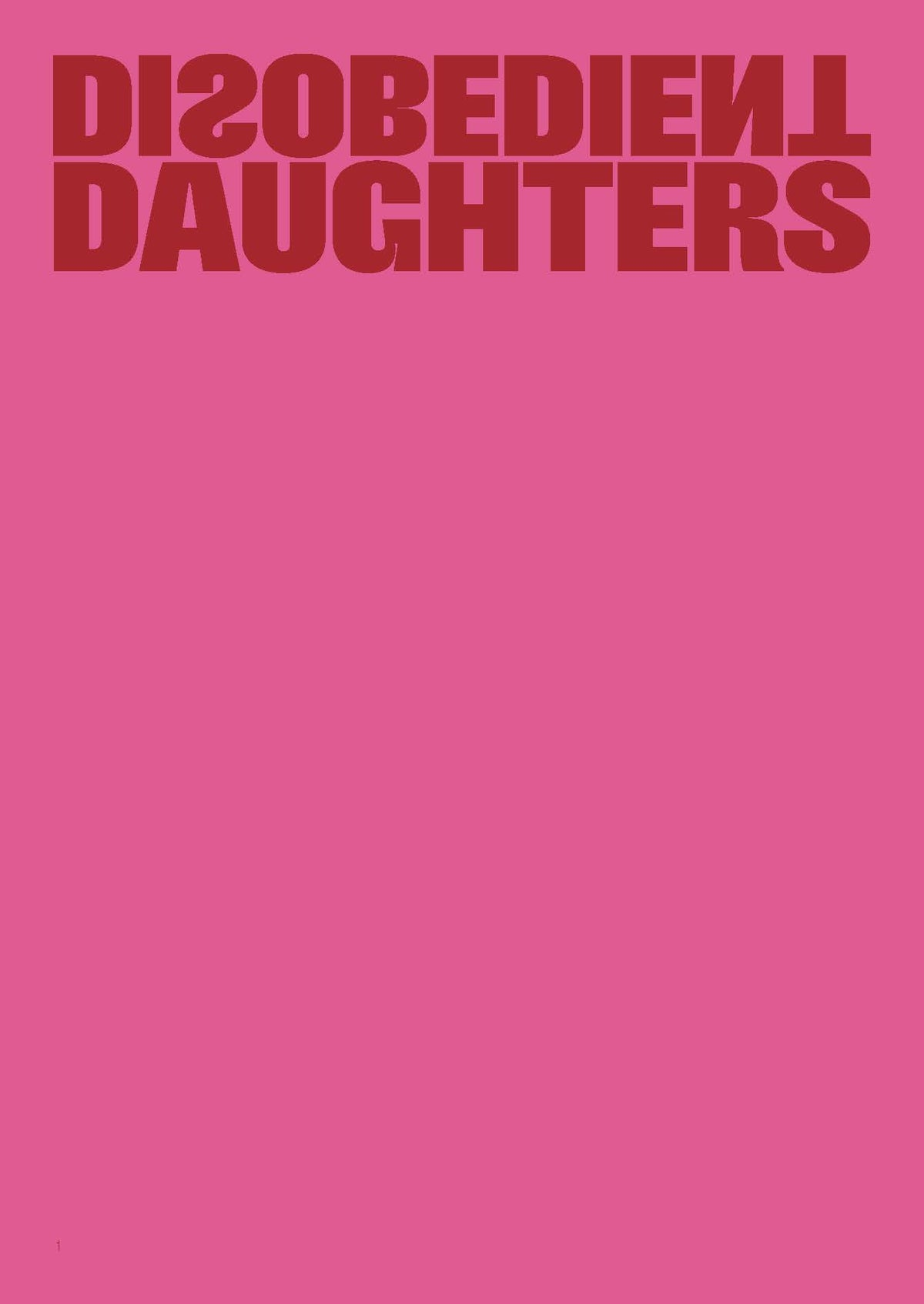 Image of Disobedient Daughters