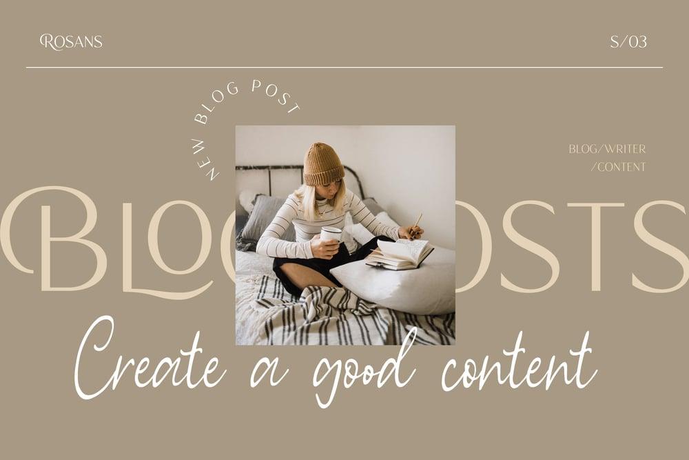 Image of Rosans - Font Duo