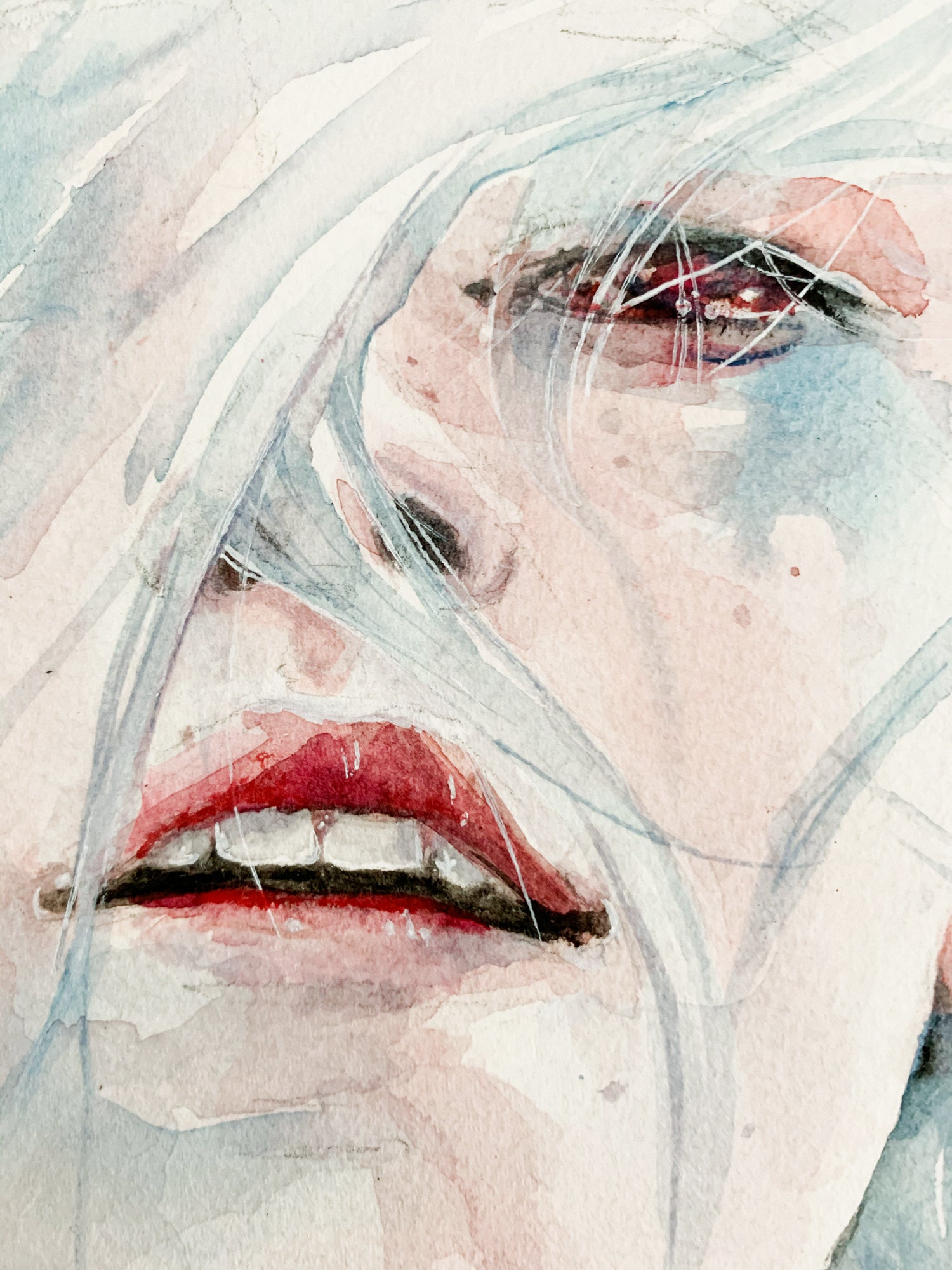 Agnes-Cecile ghosts in my mind