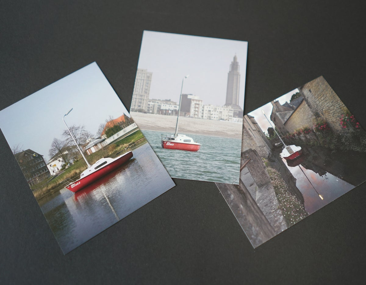 Image of BLUES (set of 3 postcards)