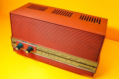 Image of RADIOMARELLI RD249 RED (1962) SPEAKER BLUETOOTH