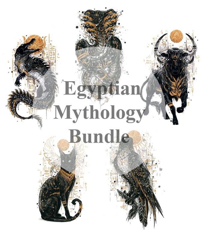 Image of Mythtober Egyptian Mythology bundle! (LIMITED)