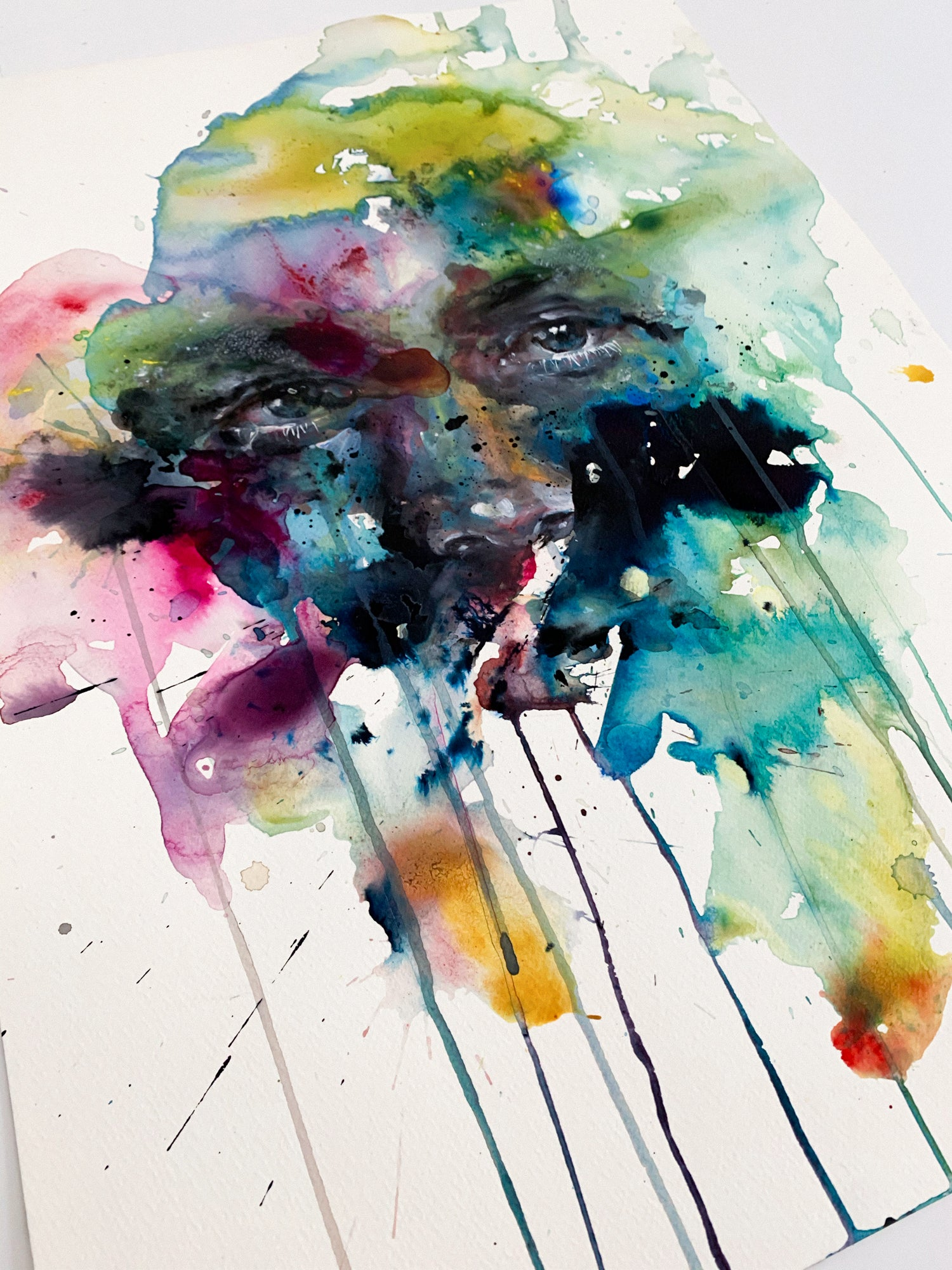 Agnes-Cecile colorful eyes study