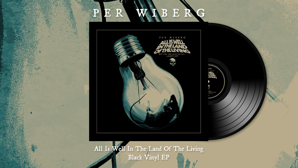 Image of PRE-ORDER Per Wiberg - All Is Well In The Land Of The Living (LP)