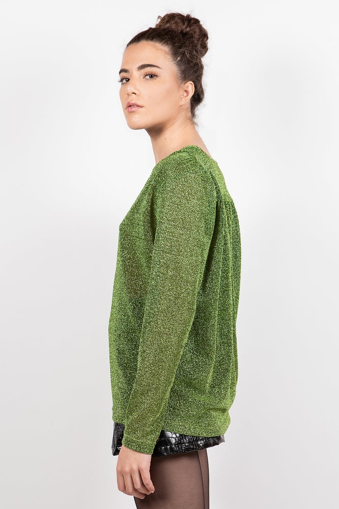 Image of MOSCA LUREX VERDE €129 - 30%