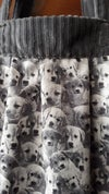 Pile of Puppies Handmade Cotton Canvas Tote Bag