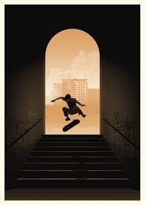 Image of Skater Artprint